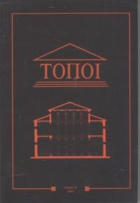 Marie-Françoise Boussac - Topoi Supplément 8/2007 : Productions et échanges dans la Syrie grecque et romaine.