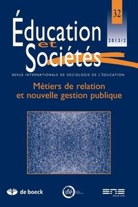 De Boeck - Education et sociétés 2013/2 - n0 32.