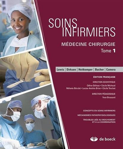 De Boeck - Soins infirmiers médecine-chirgurgie - Pack en 4 tomes + cahier.