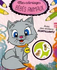 De Borée - Mes coloriages bébés animaux.