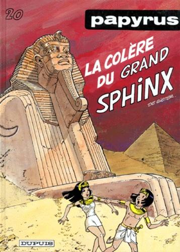 De Gieter - Papyrus Tome 20 : La colère du grand Sphinx.