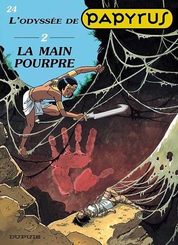De Gieter - Papyrus Tome 24 : L'odyssée - Volume 2, La main pourpre.