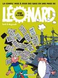 De Groot et  Turk - Léonard Tome 0 : Génie à la page - La compil' mise à jour des gags en une page de Léonard.