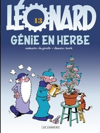 De Groot et  Turk - Léonard Tome 13 : Génie en herbe.