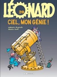 De Groot et  Turk - Léonard Tome 20 : Ciel, mon génie !.