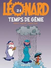 De Groot et  Turk - Léonard Tome 24 : Temps de génie.