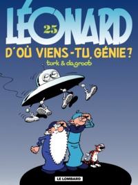 De Groot et  Turk - Léonard Tome 25 : D'où viens-tu, génie ?.