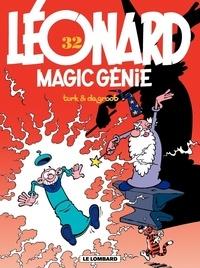 De Groot et  Turk - Léonard Tome 32 : Magic Génie.