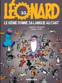 De Groot et  Turk - Léonard Tome 35 : Le génie donne sa langue au chat.