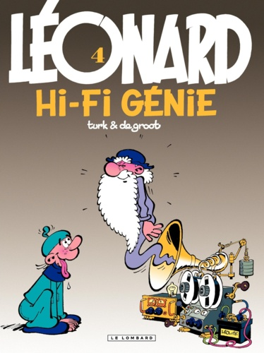 Léonard Tome 4 HI-FI génie