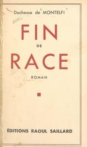 de Montelfi - Fin de race.