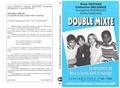 De Moor et Christophe Jacobs - CONTRADICTIONS NUMERO 68 : DOUBLE MIXTE. - La rencontre de deux cultures dans le mariage.