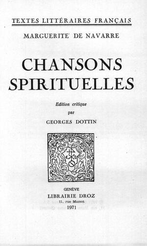 Chansons spirituelles