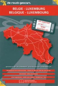 De Rouck Editions - Atlas routier Belgique Luxembourg + GPS assistant.