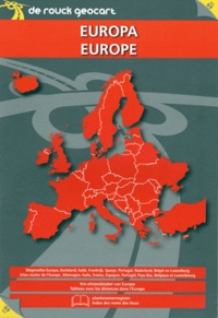 De Rouck Editions - Atlas routier Europe.