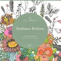 De Vecchi - Ambiance bohème - 50 coloriages anti-stress avec feuilles détachables.