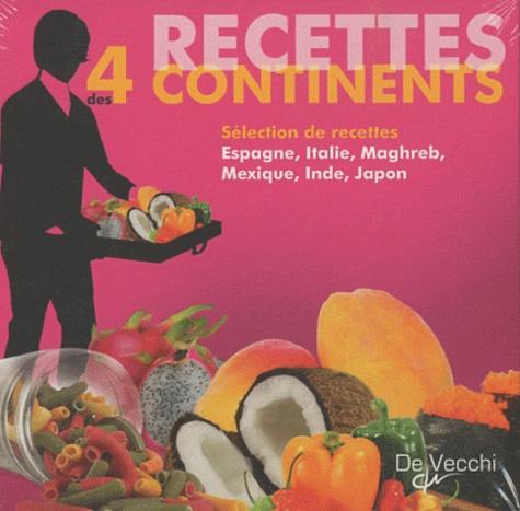 De Vecchi - Coffret recettes des 4 continents en 6 volumes - Chili, Kebab, Pasta, Sushi, Tandoori, Tapas.