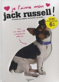De Vecchi - Je l'aime mon Jack Russel - Avec une repro 2D autocollante.