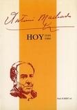 De velazquez Casa - Antonio Machado hoy (1939-1989)..