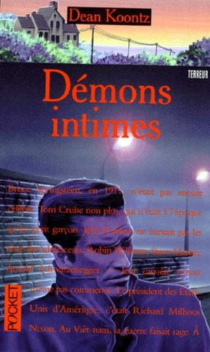 Couverture de Les demons intimes