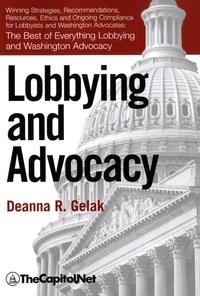 Deanna Gelak - Lobbying and Advocacy.