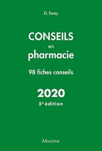 Deborah Ferey - Conseils en pharmacie.