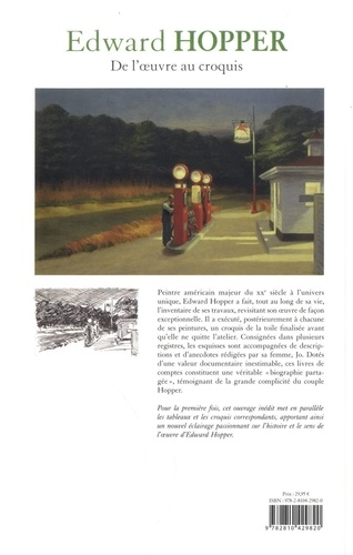 Edward Hopper. De l'oeuvre au croquis