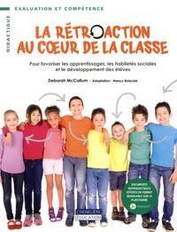 Lemememonde.fr La rétroaction au coeur de la classe - Pour favoriser les apprentissages, les habiletés sociales et le développement des élèves Image