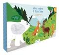 Déborah Pinto - Mon coffret à toucher Les animaux - Coffret en 4 volumes : Les animaux du froid ; Les animaux de la forêt ; Les animaux de la montagne ; Les animaux de compagnie.