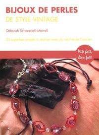 Histoiresdenlire.be Bijoux de perles de style Vintage - 35 superbes projets avec du matériel neuf et ancien Image