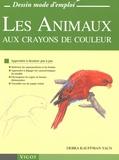 Debra Kauffman Yaun - Les animaux aux crayons de couleur.