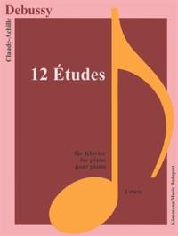 Blackclover.fr Debussy - 12 études - pour piano - Partition Image