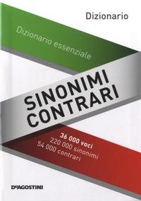 Decio Cinti - Sinonimi/contrari - Dizionario essenziale.
