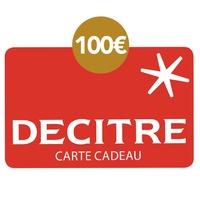 DECITRE - PAPETERIE - Carte cadeau Decitre - 100€