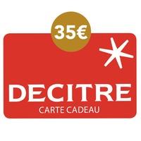 DECITRE - PAPETERIE - Carte cadeau Decitre - 35€