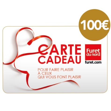 DECITRE - PAPETERIE - Carte cadeau Furet du Nord - 100€