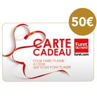 DECITRE - PAPETERIE - Carte cadeau Furet du Nord - 50€