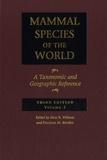 DeeAnn M. Reeder et Don-E Wilson - Mammal Species of the World - Volume 1 and 2.