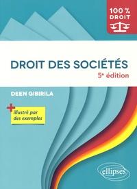 Deen Gibirila - Droit des sociétés.