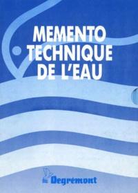 Degrémont - Mémento technique de l'eau - 2 volumes.