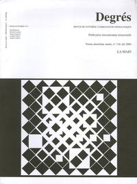Paul Bouissac - Degrés N° 118, Eté 2004 : La main.