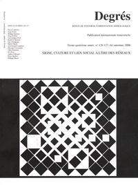 Pascal Lardellier - Degrés N° 126-127, Eté-auto : Signe, culture et lien social à l'ère des réseaux.