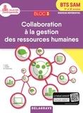 Delagrave - Bloc 3 - Collaboration à la gestion des ressources humaines BTS SAM 1re & 2e  année - Pochette élève.