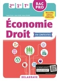 Delagrave - Economie droit 2de, 1re, Tle BAC Pro - Pochette élève.