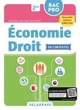 Delagrave - Economie droit 2de Bac Pro - Pochette de l'élève.