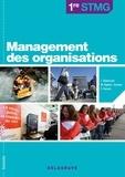 Delagrave - Management des organisations STMG 1e pochette - Livre de l'élève.