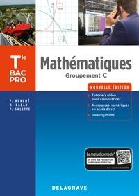 Delagrave - Mathématiques Tle Bac Pro groupement C - Pochette élève.