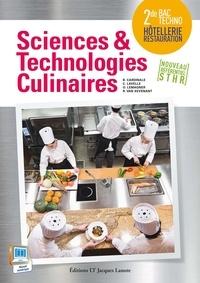 Delagrave - Sciences et technologies culinaires 2de - Livre de l'élève.