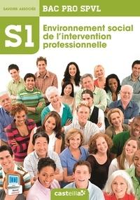 Delagrave - Spvl 1 environnement social de l'inter prof 2e 1e Term Bac Pro.