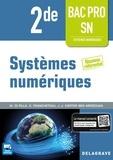 Delagrave - Systèmes numériques 2de Bac Pro SN - Pochette élève.